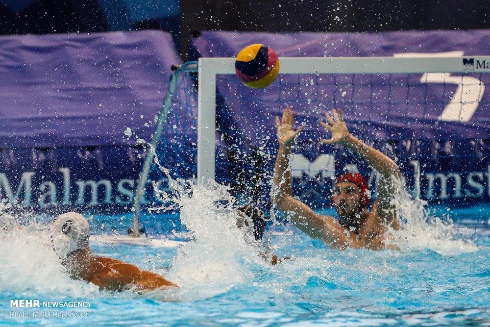 شکست تیم ملی واترپلو مقابل قزاقستان