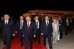 Yıldırım Azerbaycan'da böyle karşılandı