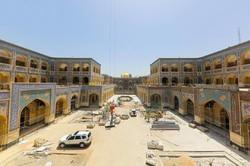 ساخت صحن حضرت زهرا(س) تجلی ارادت ایرانیان به غدیر/پیشرفت ۹۵درصدی مردمیترین پروژه