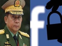 فیس بک نے میانمار کے آرمی چیف کا فیس بک اکاؤنٹس بند کردیا