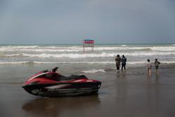 شواطئ بحر قزوين تستضيف السياح في موسم الاصطياف