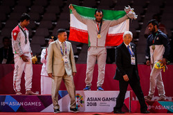 Elyas Ali Akbari wins 18th gold for Iran in Asian Games