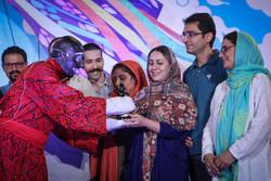Uluslararası Tahran Kukla Festivali'nin kapanış töreni