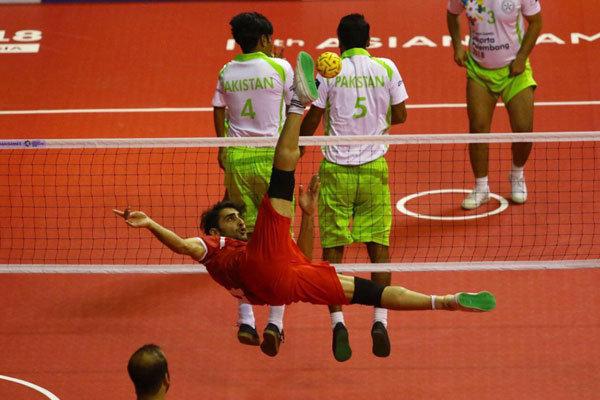 پیروزی تیم ملی سپک تاکرای ایران برابر نپال