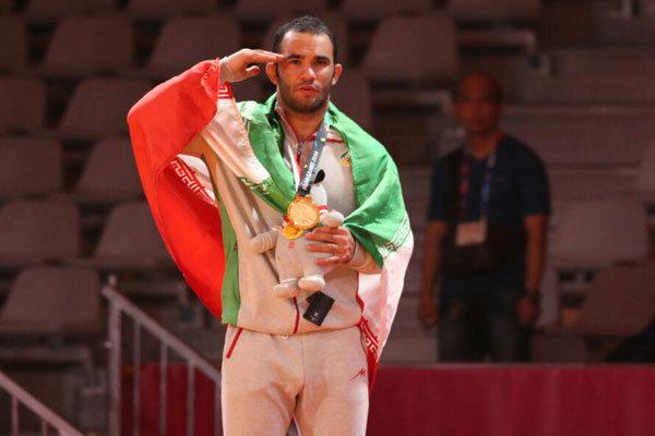 İranlı milli güreşçiden Endonezya'da altın madalya
