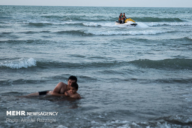 Hazar Denizi İran'ın en önemli tatil noktası