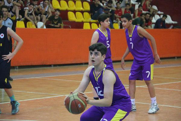 تیم بسکتبال البرز با پیروزی بر قم قهرمان شد