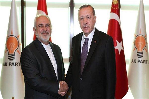 Zarif, Erdogan hold meeting in Ankara to discuss Syria, bilateral ties