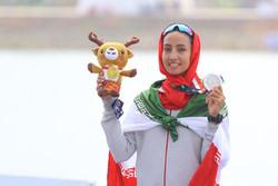هدیه کاظمی: از خودم توقع مدال طلا داشتم