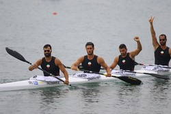Iran canoe, kayak team snatches 3 medals at 2018 Asian Games