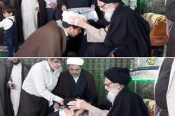 مراسم عمامه گذاری طلاب حوزه علمیه امام صادق(ع) ورامین برگزار شد