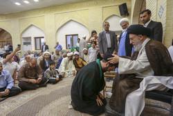 مراسم عمامه گذاری جمعی از طلاب مدرسه علمیه امام خمینی(ره)گرگان