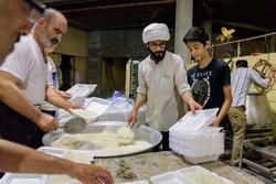 ضیافت علوی ؛ اطعام ۱۲۰۰۰ نفری در شهرستان شهریار