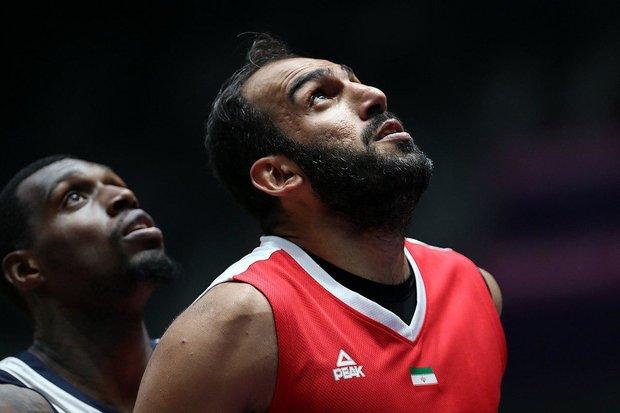 بازگشت حدادی به تیم ملی بسکتبال برای جام جهانی/او را متقاعد کردیم