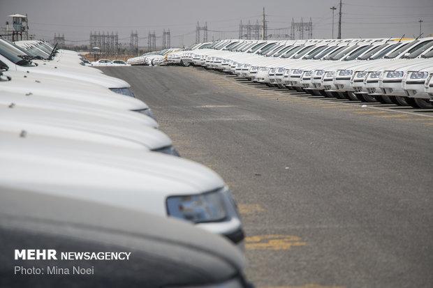پلمب انبار ایران خودرو ممقان با 8800 دستگاه خودرو