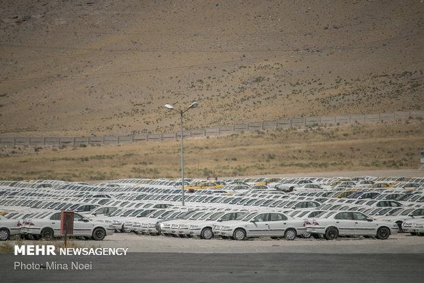 پلمب انبار ايران خودرو ممقان با 8800 دستگاه خودرو