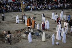 بازسازی واقعه غدیر در شهرستان بهار