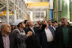 جشن دستیابی به تولید ۴۰ هزار تن فولاد غرب آسیا
