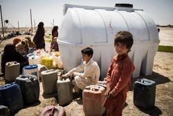 توزیع ۶۰ تانکر آب در شهرستان خاش