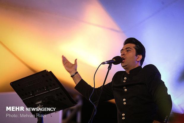 Open air concert in Ab-o-Atash Park