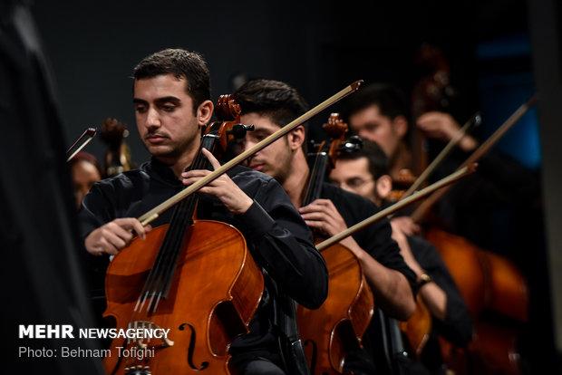 کنسرت ارکستر ملی ایران به رهبری نزهت امیری
