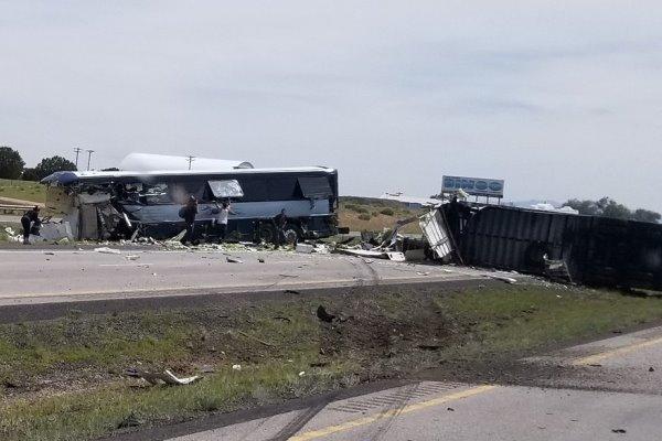 جنوبی افریقہ میں ٹریفک حادثے میں 10افراد ہلاک