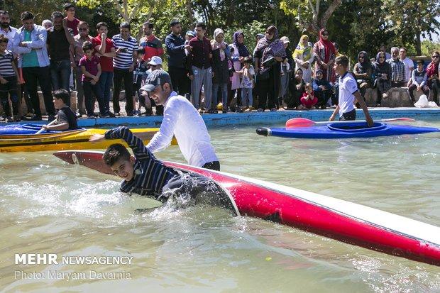 المهرجان الكبير لسباق القوارب في بجنورد