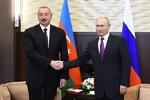 Azerbaycan Cumhurbaşkanı Aliyev Putin'le görüştü
