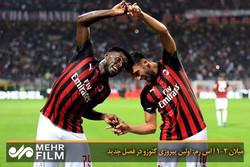 میلان ۲-۱ آ اس رم: اولین پیروزی گتوزو در فصل جدید