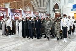 قادة مقر خاتم الانبياء (ص) يجددون العهد مع مبادئ الإمام الخميني