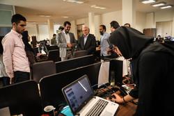 جولة  رئيس منظمة الثقافة الفنية في بلدية طهران في وكالة مهر للأنباء