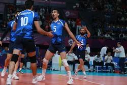 الإعلان عن أسماء لاعبي منتخب ايران لكرة الطائرة