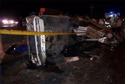 تصادف در جاده ورامین/۵ نفر مصدوم شدند