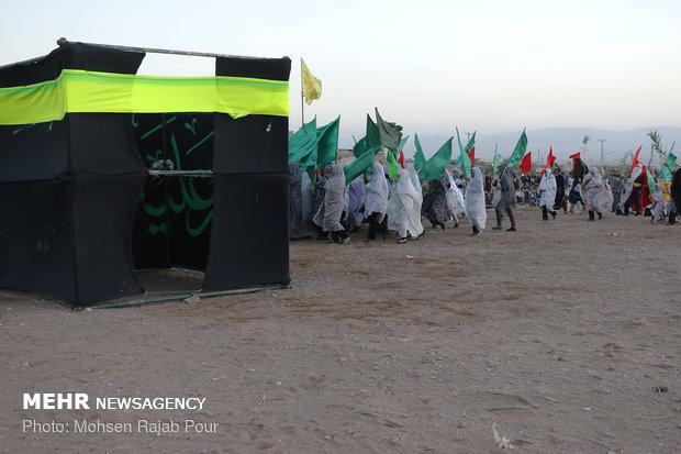 بازسازی واقعه غدیر در روستای دهزیار استان کرمان