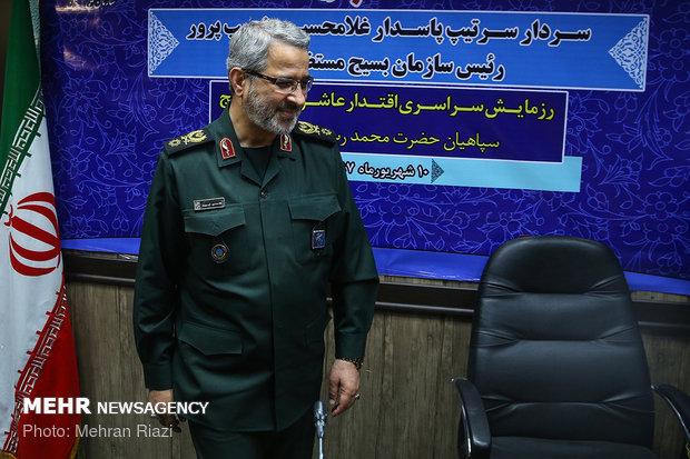 نشست خبری سردار غیب پرور