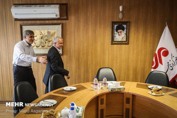 Tehran Municipality cultural official visits MNA