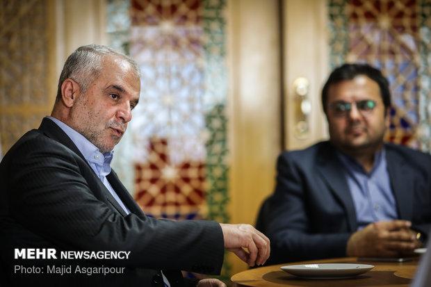 بازدید سعید اوحدی رییس سازمان فرهنگی هنری شهرداری تهران از خبرگزاری مهر