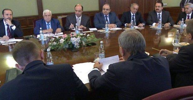 Al-Moallem, Borisov discuss bolstering coop.