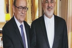 Iranian, French FMs hold meeting in New York