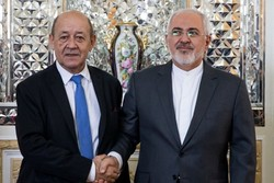 Iran, France FMs confer on bilateral ties, regional developments