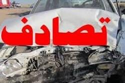 برخورد ۲ خودرو در جاده «پلدختر - دره شهر» ۳ مجروح برجای گذاشت