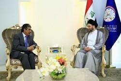 دیدار «سید عمار حکیم» با سفیر کویت در عراق