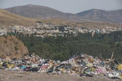 معضل زباله ها در خلخال
