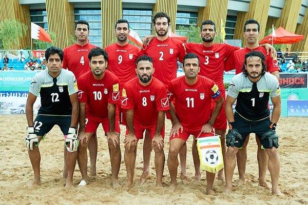 3rd in world; latest ranking of Iran's beach soccer team