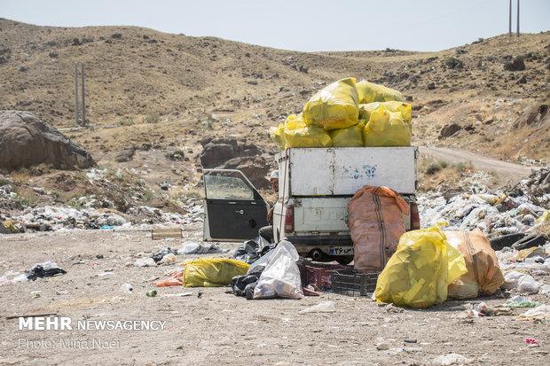 معضل زباله ها در محله کرنو خلخال