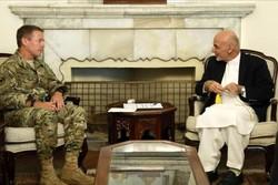 دیدار «اسکات میلر» با رئیس جمهوری افغانستان