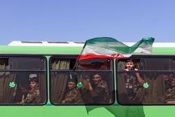 """انطلاق مناورات """"عاشوراء"""" لقوات التعبئة في محافظة البرز وسط ايران/صور"""