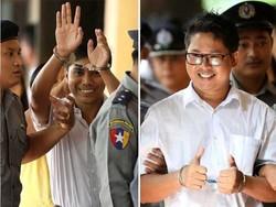 روہنگيا مسلمانوں کے قتل کی خبریں دینے والے 2 صحافیوں کو 7 سال قید کی سزا
