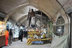 مرمت تاقهای آسیبدیده بازار تاریخی اراک در اولویت قرار دارد