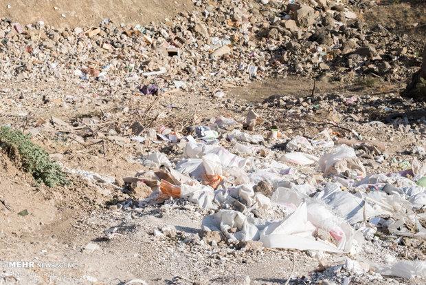 زبالههای حاشیه شهر چهره اردبیل را زشت کرده است